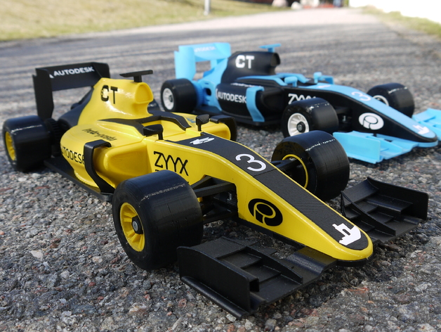 openrc f1 car 1 10 rc car by barspin thingiverse rh thingiverse com