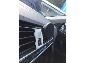 Mobile phone holder ball mount base for VW Volkswagen Tiguan II AD1 LHD