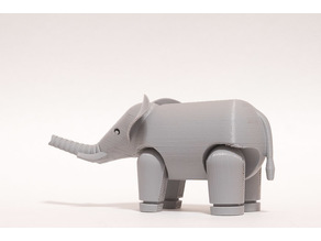 Articulated Elephant