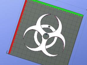 biohazard keycahin