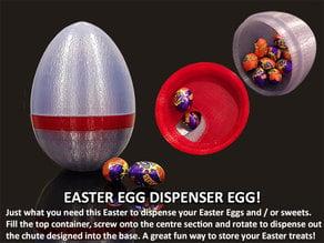 Easter Egg Dispenser Egg