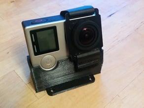 GoPro TPU/NinjaFlex Mount for ZMR250 - 20 Degrees