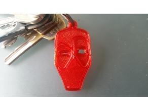 Keychain Deadpool Minimal