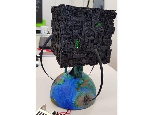 Star Trek - The Next Generation Borg Cube by Calvin_3
