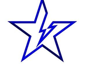 Bowie Black Star Aladdin Sane Constellation Sculpture
