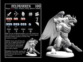 Heldrakken (18mm scale)