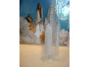 Space Shuttle - Laser Cut