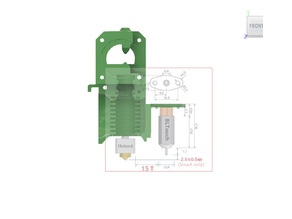 BLT compatible body for Tornado CR10 Prusa Extruder upgrade