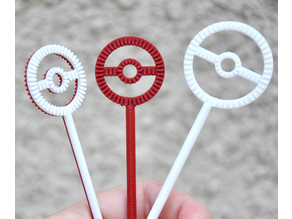 Pokeball Bubble Wand