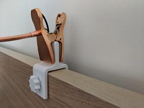 JANSJÖ-MALM bed frame adapter