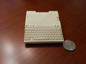 Apple IIc Raspberry Pi case - Model A+