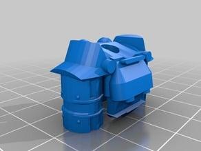 Power Armor Lego With Arms