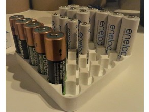 AA battery simple holder
