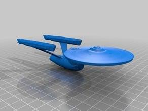 Star Trek Enterprise Refit NCC-1701-A 1:2000