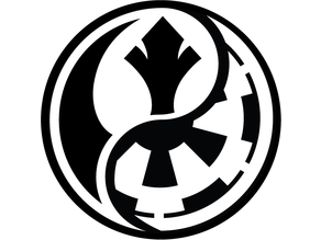 star wars ying yag keychain