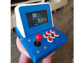 Yet Another Mini Arcade. Adjustable for 6 or 8 button config.