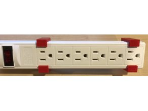 Ikea Koppla Power Strip Mounting Brackets (US)