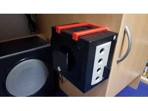 Simple GameCube Wall Mount