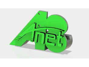 Anet A8 - X-Axis antivibration Logo T-Corner