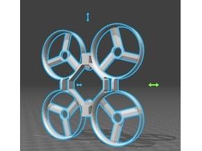Eachine qx70 adapted design