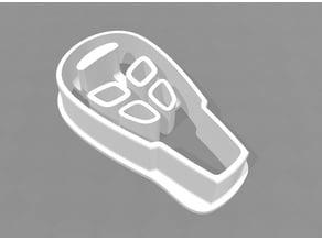 Saab 9-3  key Cookie cutter