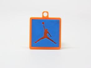 Jumpman Silhouette Keychain