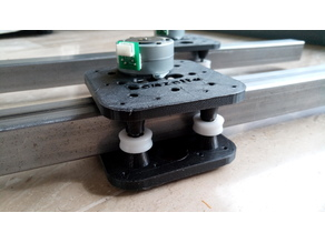 3030 Iron Slider CNC V2 - Ultra low cost linear guide