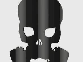 Skull Gas Mask Pendant