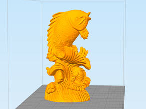 stronghero3d carp over the goal can be transformed into a dragon