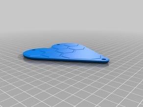 D&D dice case Heart shape