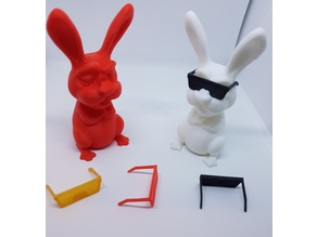 Easter Bunny Extrudr Seperate Sunglasses