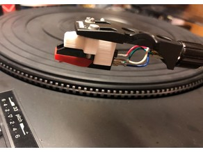 Turntable Cartridge Adapter - for Half Inch Screw Mount