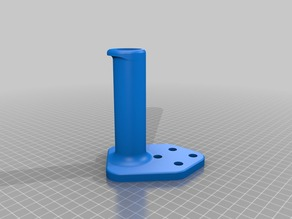 Makergear M2 Space saver offset spindle spool holder