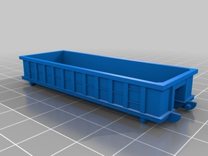 1-100, 15mm roll off dumpsters