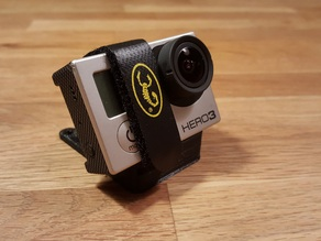 Customizable Miniquad GoPro Mount