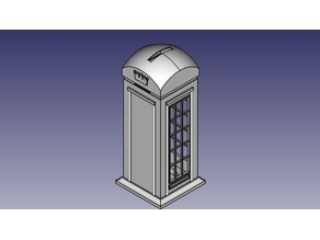 Telephone Booth Money Box