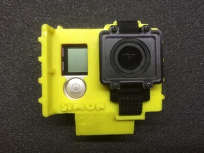 Gopro HERO4 25° protective case for FPV racing