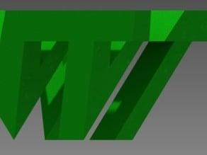 VT Logo 3D