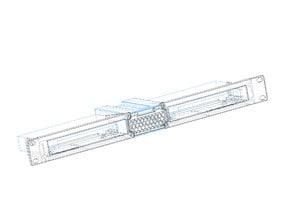 Netgear GS308 8 port switch module - wings - REMIX (M3 screws)