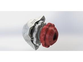 universal spool holder EVO for 24 - 56mm holes
