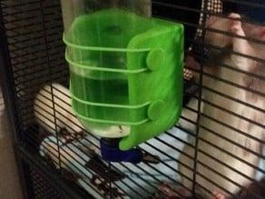 Water bottle holder for critter nation