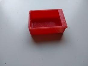 Box with lip