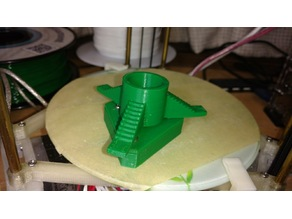 Universal Filament Spool Holder for Small 3D printers.