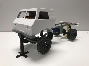 3D printed RC truck V3: Center diff V2