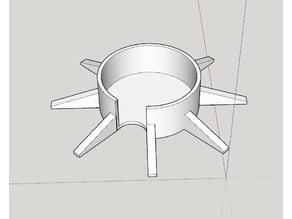 Base for Javapresse manual coffee grinder