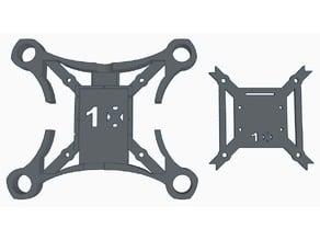 X10 110mm Micro FPV Frame for 1020 Motors