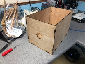 Simple Laser Cut Storage Box
