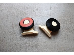 Spinning rear wheels for Puzzle Plane