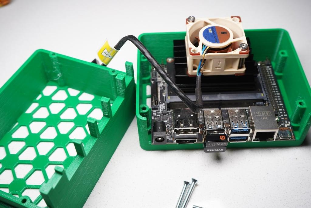 Nvidia Jetson Nano Case – NanoMesh Desktop by flyattack - Thingiverse