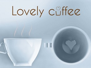 Lovely coffee. A relaxing cup of cafe con leche with hidden heart.